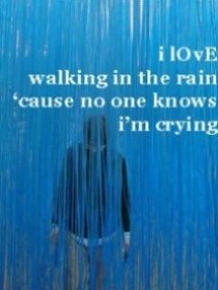 I Love Rain Mobile Wallpaper