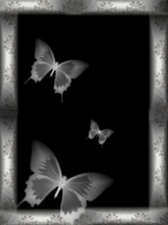 Light Butterfly Mobile Wallpaper