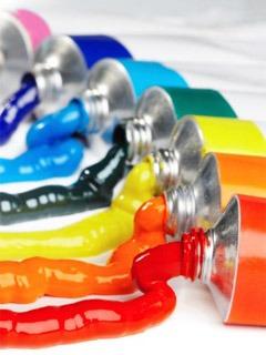 Colour Bottles Mobile Wallpaper