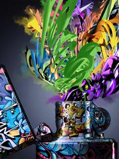 Colourfull Liter Mobile Wallpaper