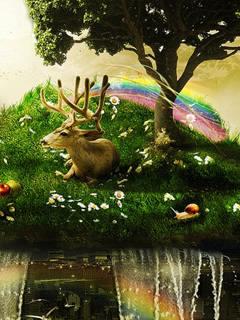 Deer Mobile Wallpaper