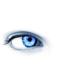 Blue Eye Mobile Wallpaper