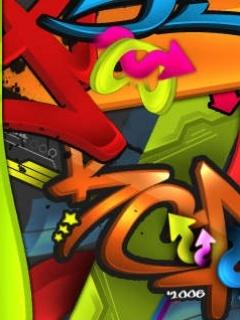 Grafiti Mobile Wallpaper