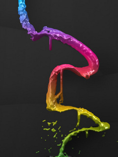 Colors Line Mobile Wallpaper