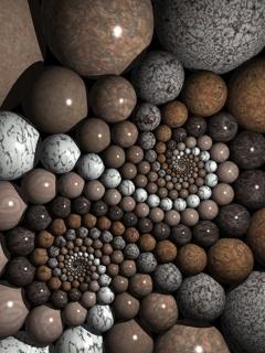 Lovely Stones Mobile Wallpaper