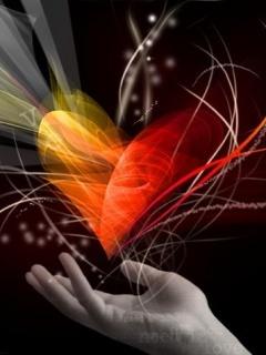 Love Heart Mobile Wallpaper