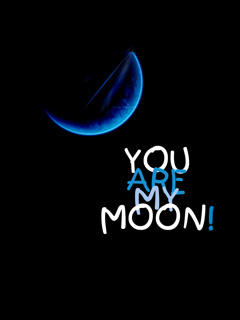 You Are My Moon Mobile Wallpaper