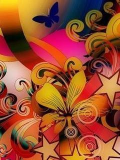 3d Art Color Mobile Wallpaper