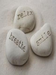 Relax Breathe Mobile Wallpaper
