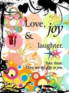 Love And JOy Mobile Wallpaper