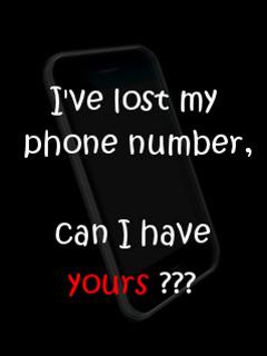 Phone Number Mobile Wallpaper
