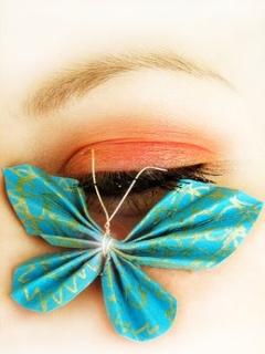 On Eye Butterfly Mobile Wallpaper