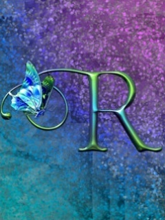 Butterfly R Mobile Wallpaper