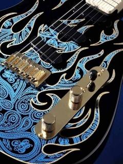 Lovely Guitar Mobile Wallpaper