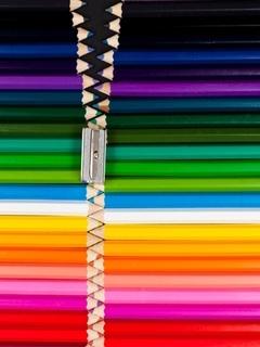 Colors Zip Mobile Wallpaper