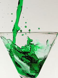 Green Drink Mobile Wallpaper