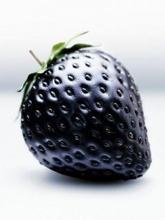 3D Strawberry Mobile Wallpaper