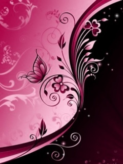 Pink Abstract Mobile Wallpaper