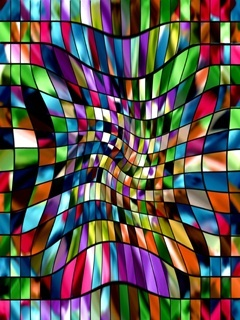 Colourful Abstract Mobile Wallpaper