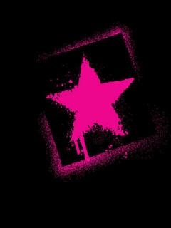 Purple Star Mobile Wallpaper