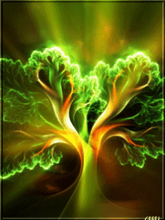 Abstract Green Mobile Wallpaper