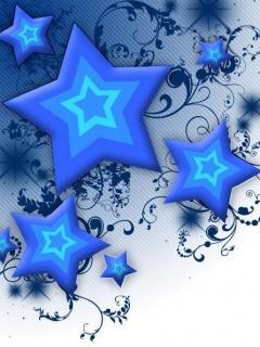 Blue Start Mobile Wallpaper