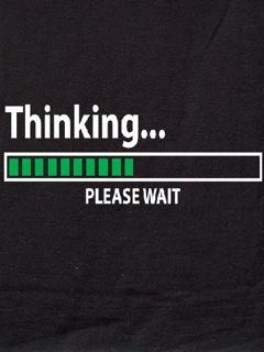 Thinking Mobile Wallpaper