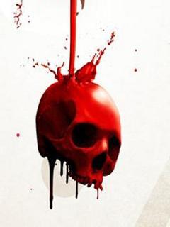 Red Skull Mobile Wallpaper
