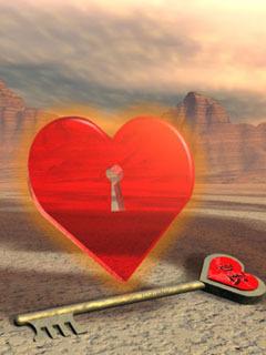 Love Key Mobile Wallpaper