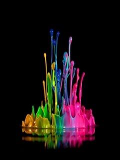 Water Colors Mobile Wallpaper