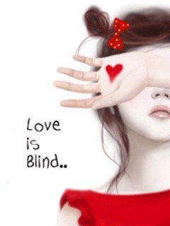 Love Is Blind Mobile Wallpaper