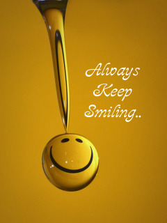 Keep Smiling Mobile Wallpaper