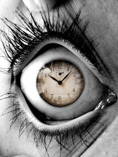 Time Eye Mobile Wallpaper