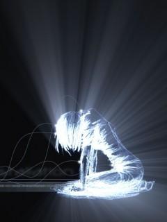 Light Girl Mobile Wallpaper