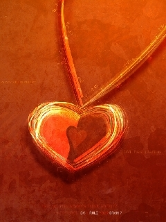 Abstract Heart Mobile Wallpaper