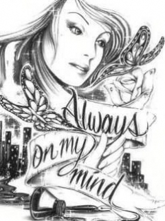 Always On My Mind Mobile Wallpaper