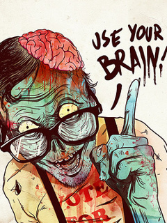 Use Ur Brain Mobile Wallpaper