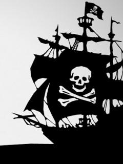 Skull Ship Mobile Wallpaper