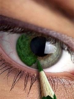 Green Eye Mobile Wallpaper