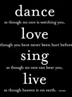 Dance Love Mobile Wallpaper