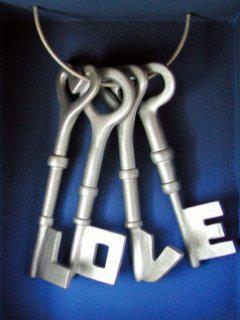 Keys Love Mobile Wallpaper