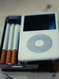 Ipod Cigarette Mobile Wallpaper