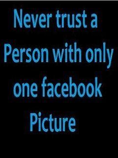 Never Trust Mobile Wallpaper