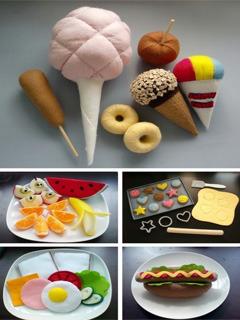 Ice Creams N Foods Mobile Wallpaper