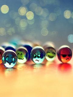 Smilies Colors Mobile Wallpaper
