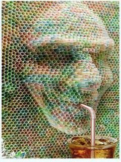 Straws Mobile Wallpaper
