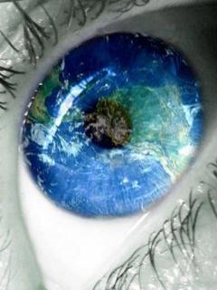 Amazing Blue Eye Mobile Wallpaper