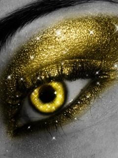 Golden Eye Mobile Wallpaper