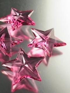 Pink Stars Mobile Wallpaper