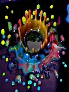 Skittles Rainbow Of Colours Mobile Wallpaper